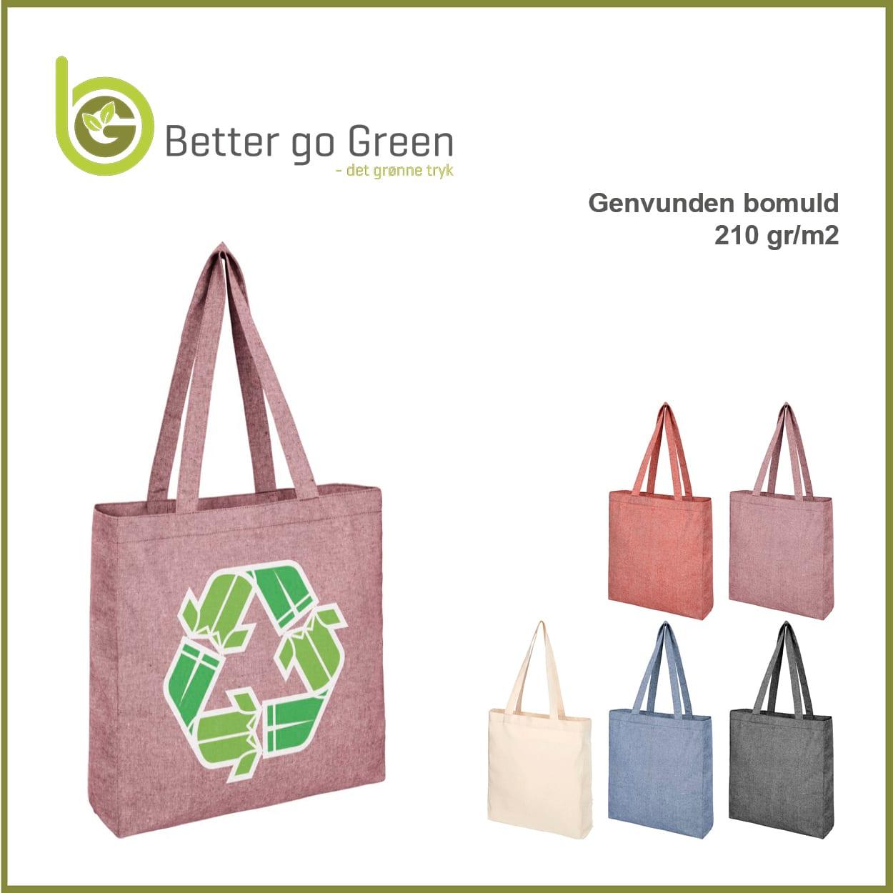 Muleposer 210 gr. af genbrugt bomuld, BetterGoGreen.dk