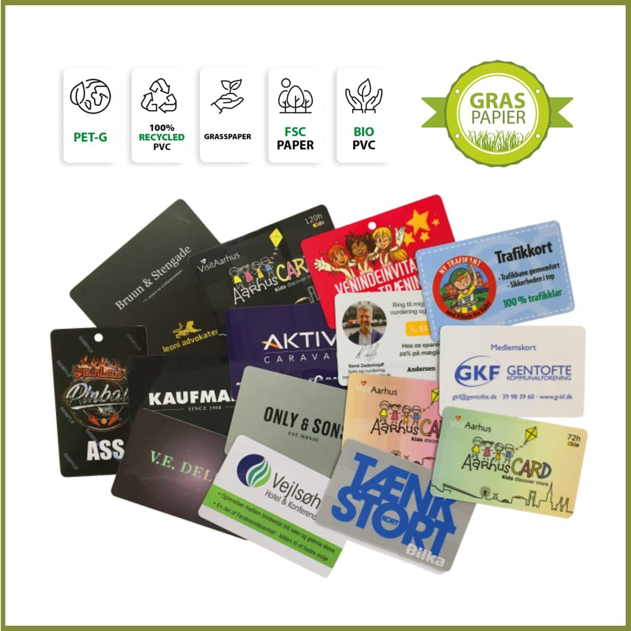 Miljøvenlige visitkort. BetterGoGreen.dk